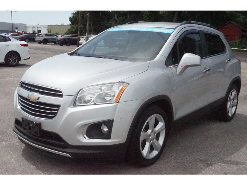 Pre-Owned 2016 Chevrolet Trax LTZ FWD